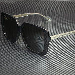 Gucci Black Grey 58mm Sunglasses
